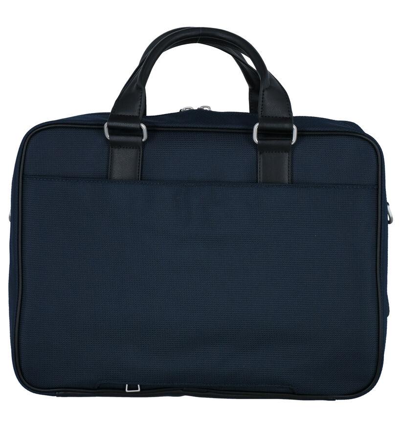 Tommy Hilfiger Elevated Blauwe Laptoptas in kunstleer (285798)