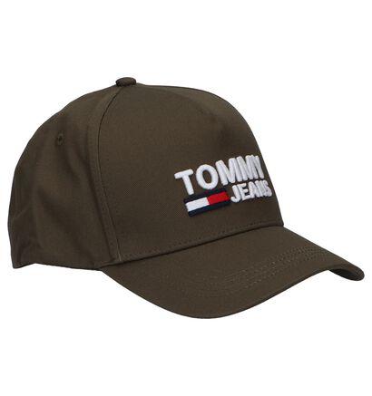 Zwarte Pet Tommy Hilfiger TJM Logo Cap, Groen, pdp