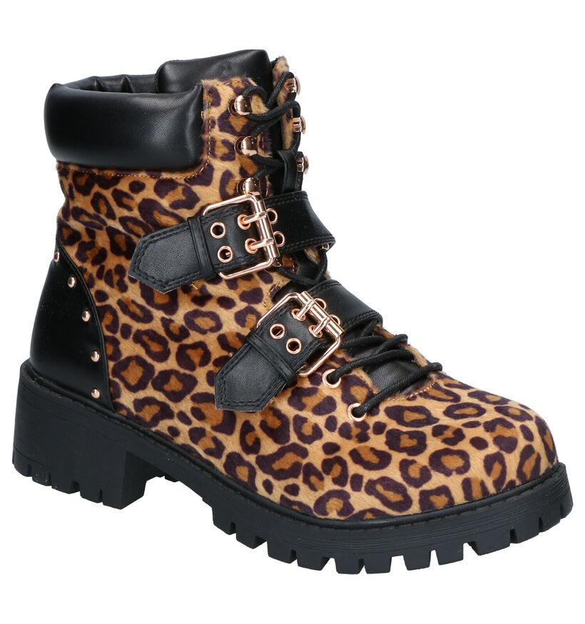 Vero Moda Vmluisa Bruine Boots in kunstleer (256056)
