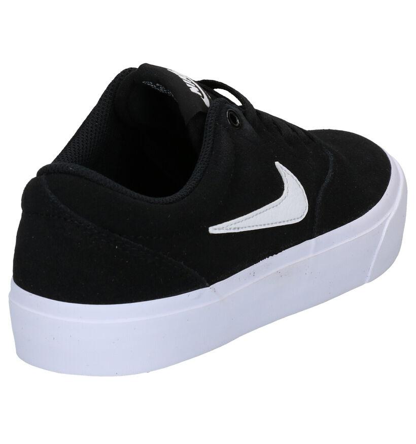 Nike SB Charge Suede Zwarte Sneakers in nubuck (277470)