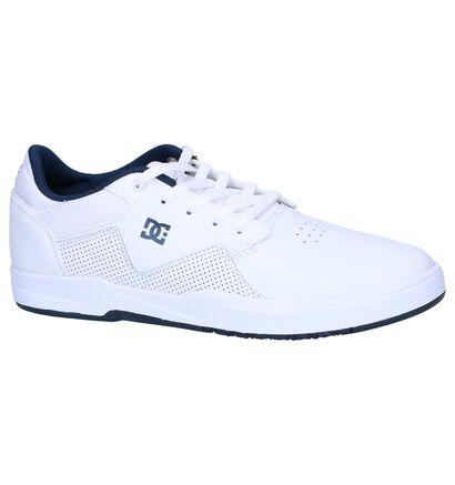 DC Shoes Barksdale Sneakers en Blanc en cuir (250821)
