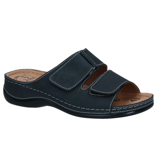 Dr. Mauch Blauwe Slippers