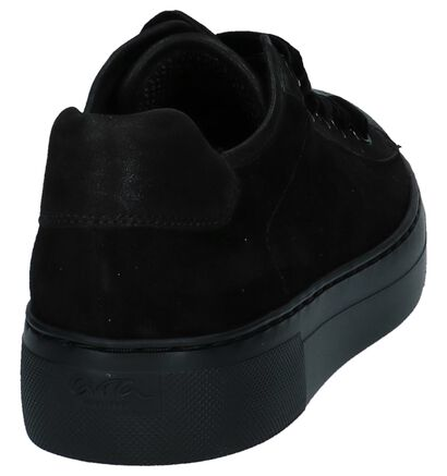 Ara Baskets basses en Noir en daim (232428)