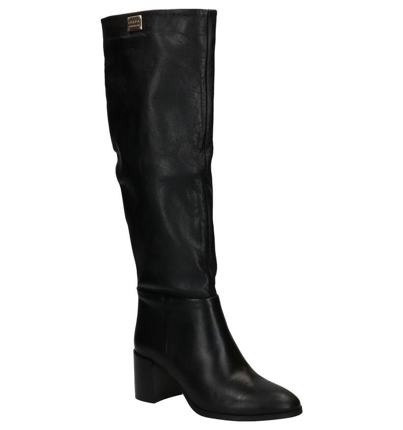 Scapa Bottes hautes en Noir en cuir (281263)