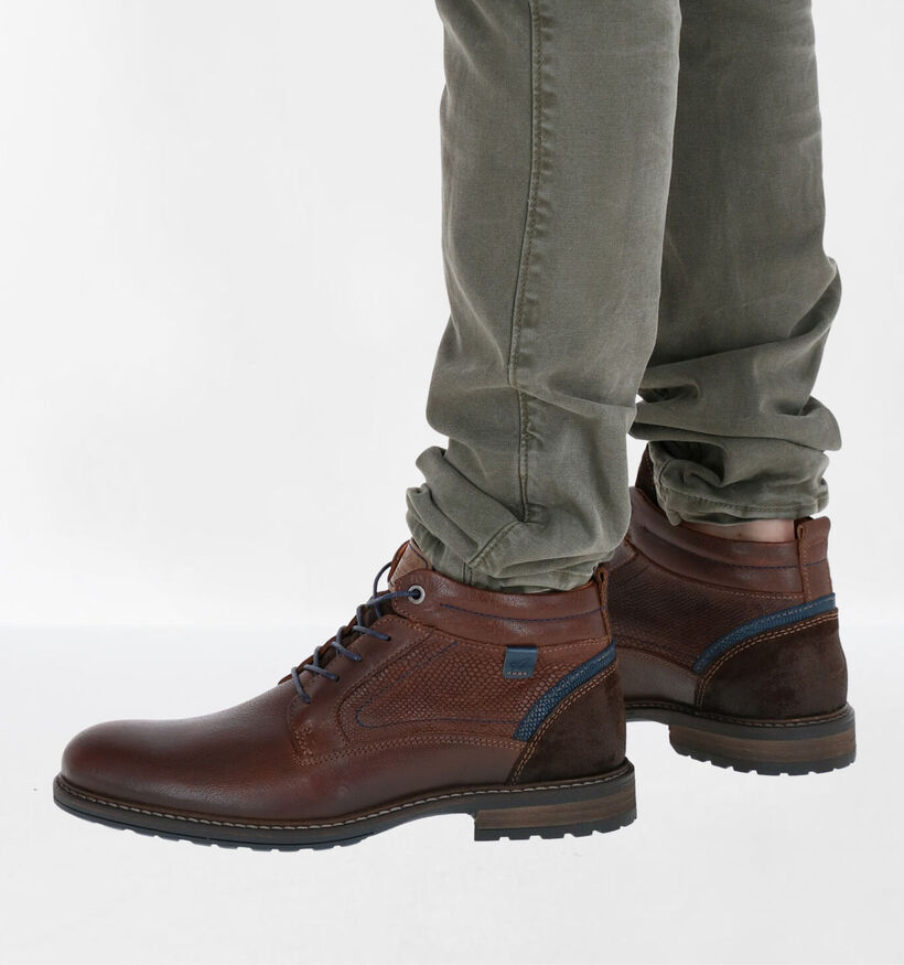 Australian Conley Bruine Boots in leer (282693)