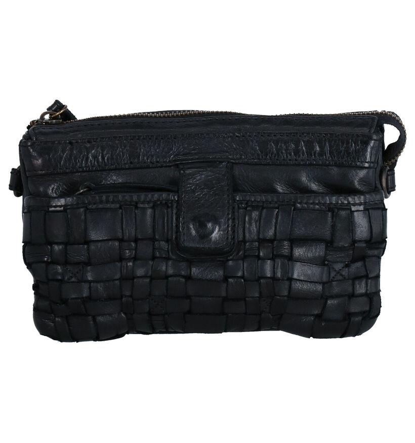 Bear Design Sac porté croisé en Noir en cuir (284279)