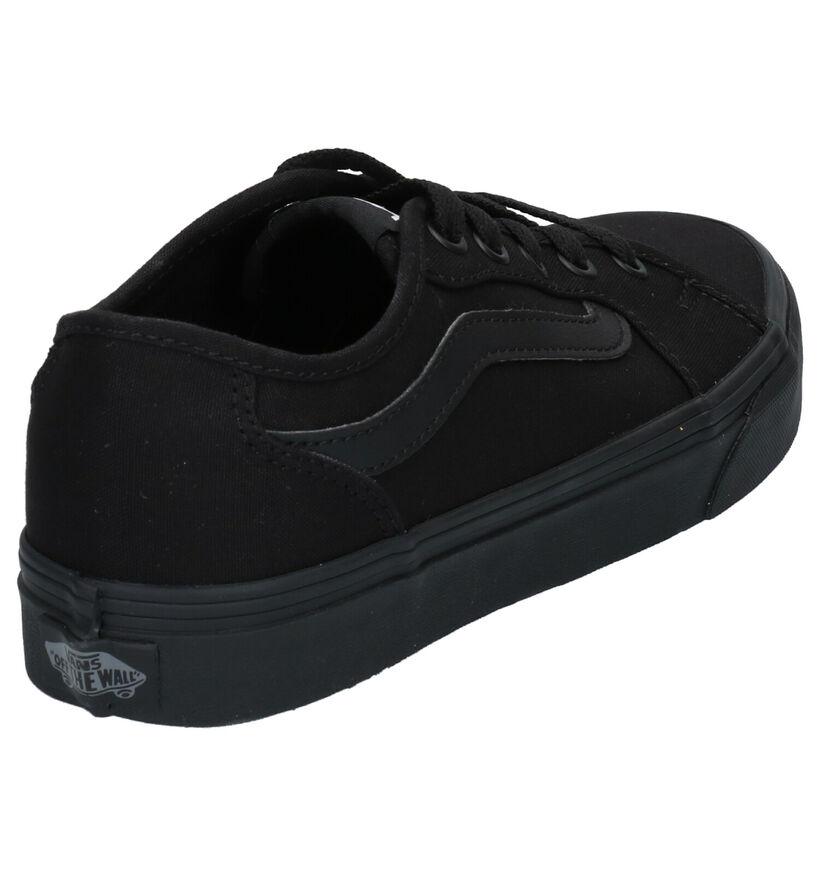 Vans Filmore Decon Zwarte Sneakers in stof (287360)