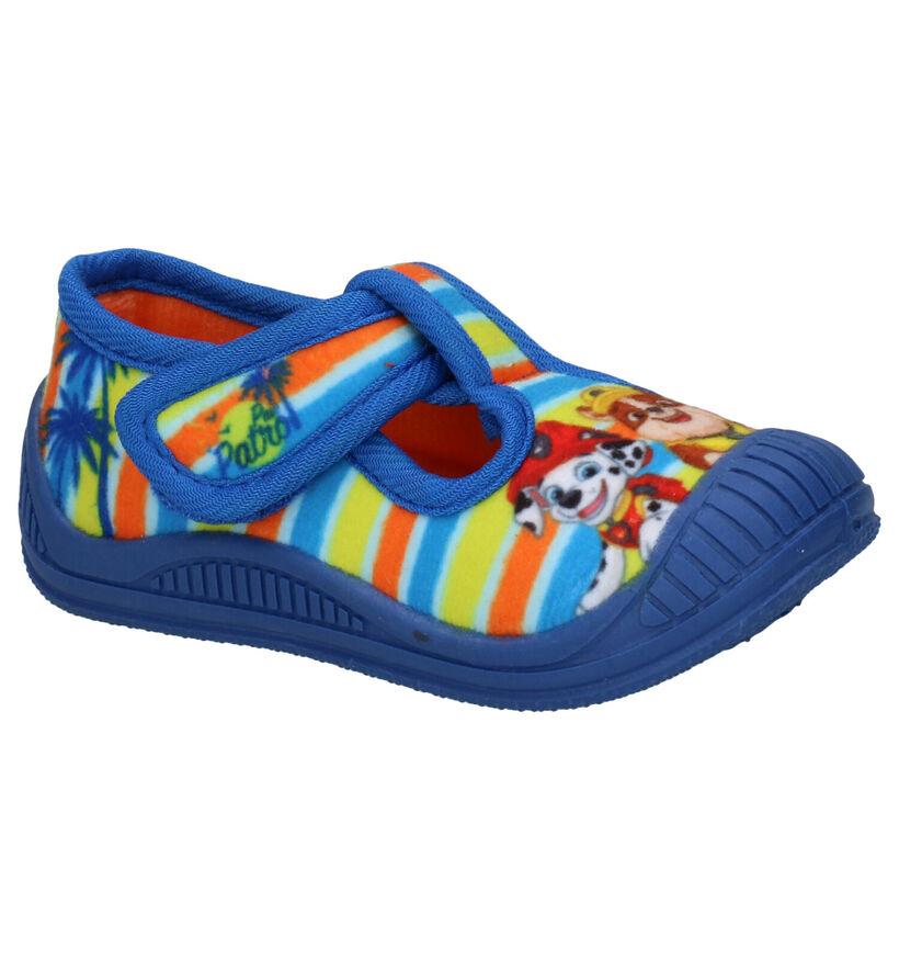 Paw Patrol Blauwe Pantoffels in stof (288510)