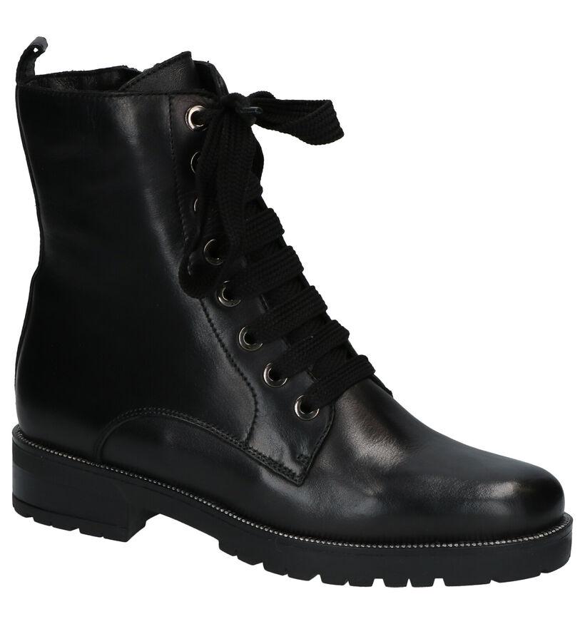Gosh Zwarte Boots in leer (253043)