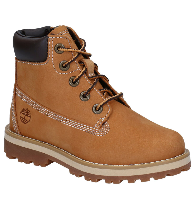 Timberland Courma Kid 6 Inch Zwarte Boots in nubuck (277721)