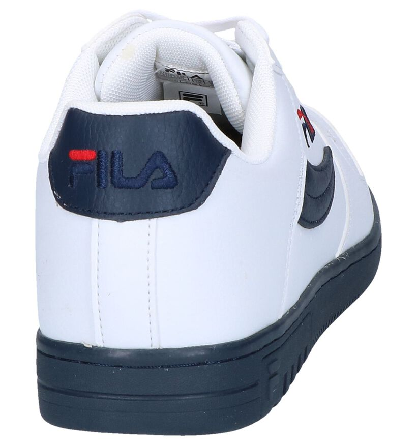 Fila FX100 Low Witte Sneakers in kunstleer (240884)