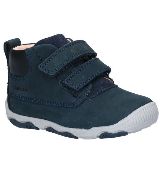 Geox Balu Blauwe Velcroschoenen