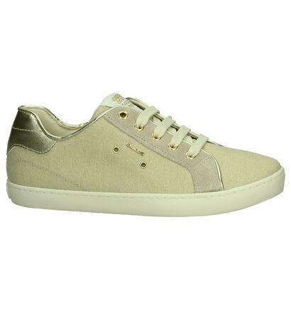 Geox Licht Beige Sneakers, Beige, pdp