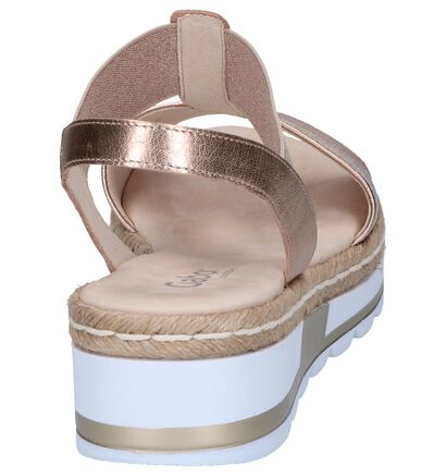 Rose Golden Sandalen Gabor Comfort in leer (245460)
