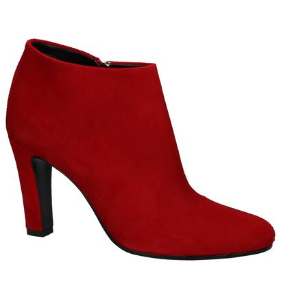 Via Limone Bottillons en Rouge en daim (229985)