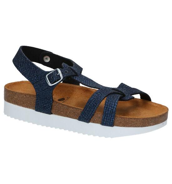 Plakton Blauwe Sandalen