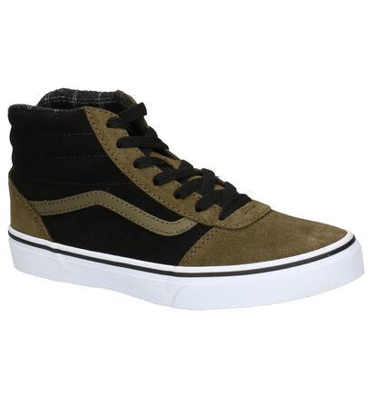 Vans Ward Hi Kaki Skateschoenen in nubuck (253301)