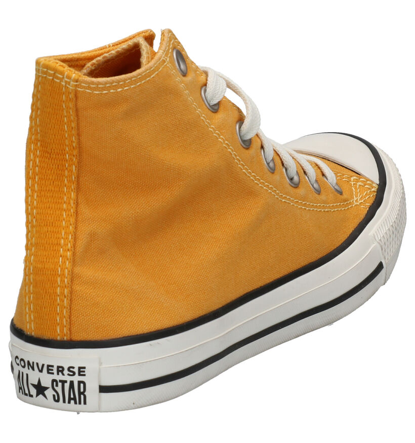 Converse Chuck Taylor All Star Okergele Sneakers in stof (266473)