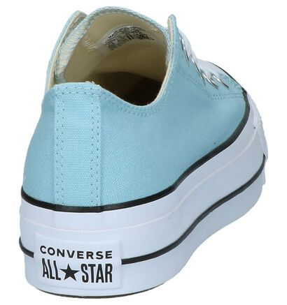 Witte Sneakers Converse All Star Lift OX in stof (249421)