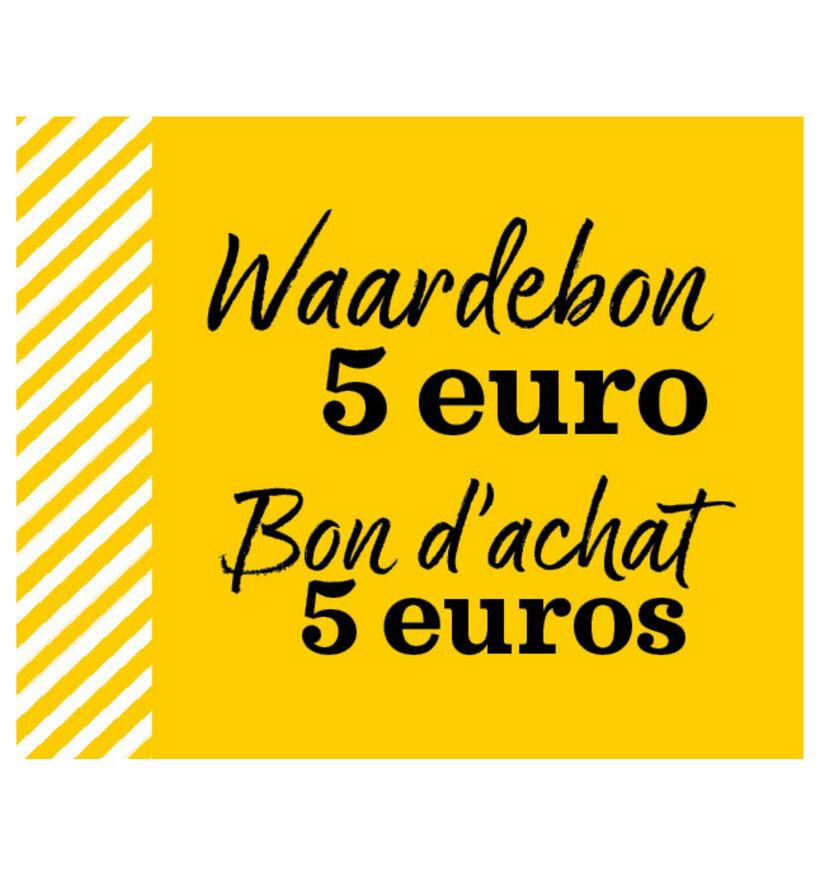 Waardebon 5 euro (5000)