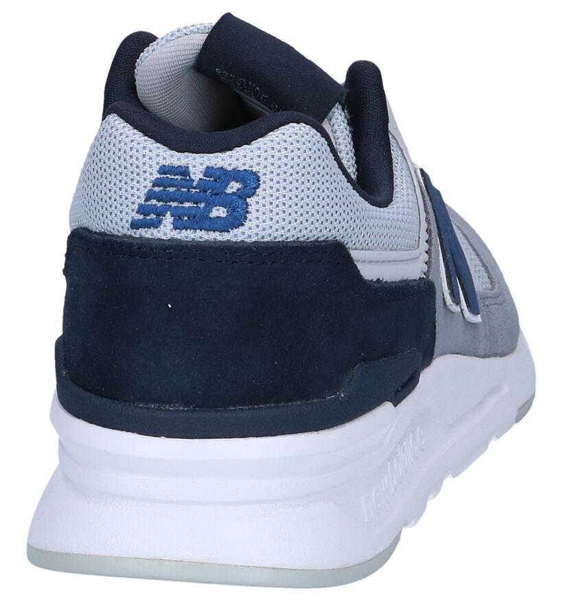 Grijze Sneakers New Balance CM997 in daim (249894)