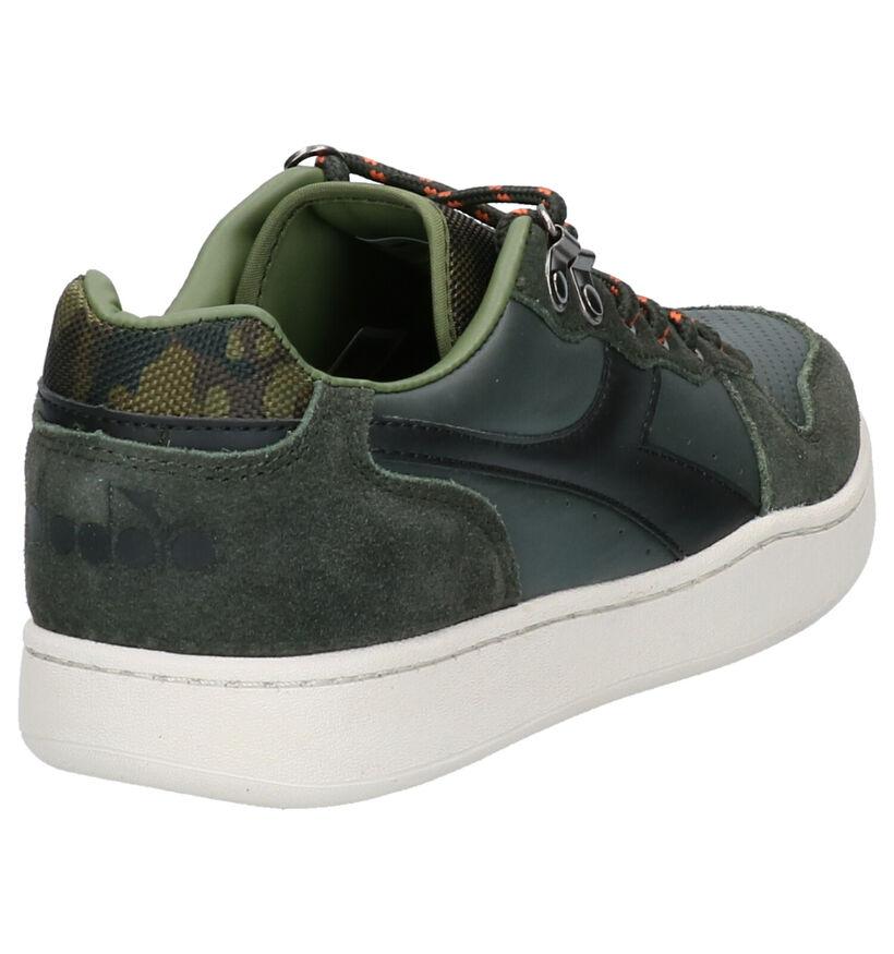 Diadora Playground Sierra Sneakers Groen in daim (253696)