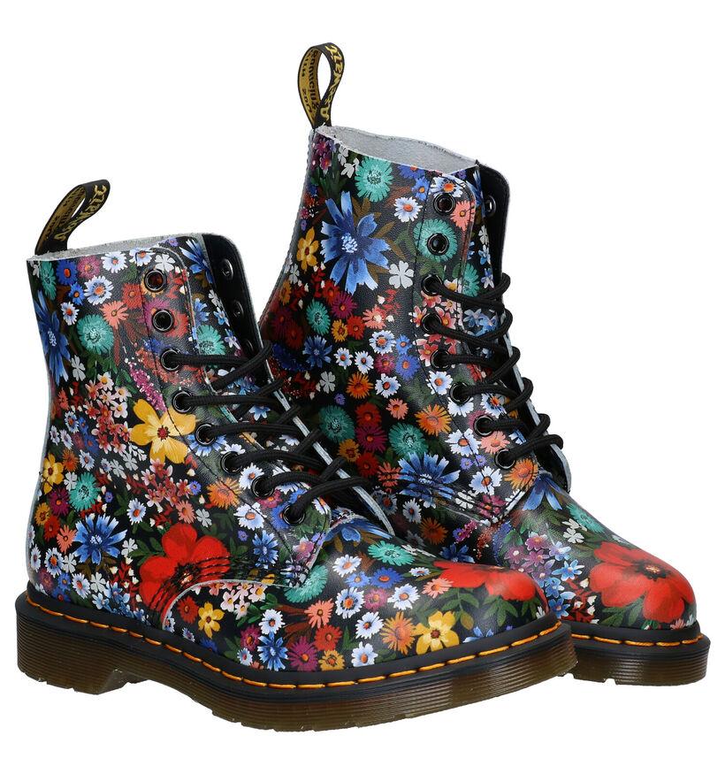 Dr. Martens 1460 Multicolor Boots in leer (277070)