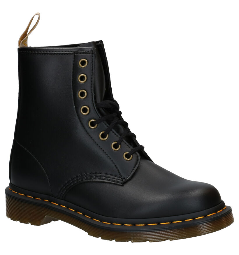 Dr. Martens Vegan 1460 Bottines en Noir en simili cuir (277088)