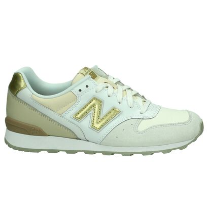 New Balance WR996 Sneaker Wit/Beige, Wit, pdp
