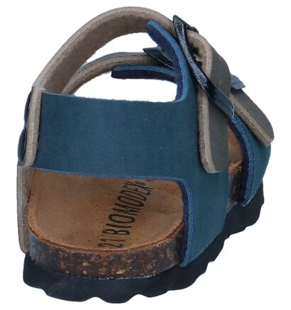 Blauwe Sandalen Biomodex, Blauw, pdp