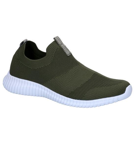 ONOFF Chaussures slip-on en Vert kaki