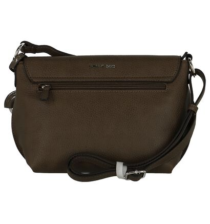 Crossbody Tas Laurent David Camille Taupe, Taupe, pdp