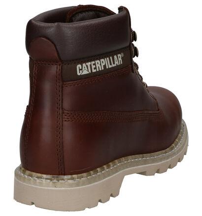 Caterpillar Colorado Bruine Boots in leer (256180)