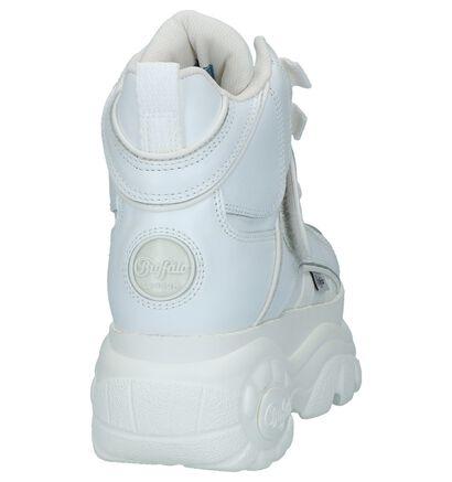 Buffalo London Baskets hautes en Blanc en cuir (232571)