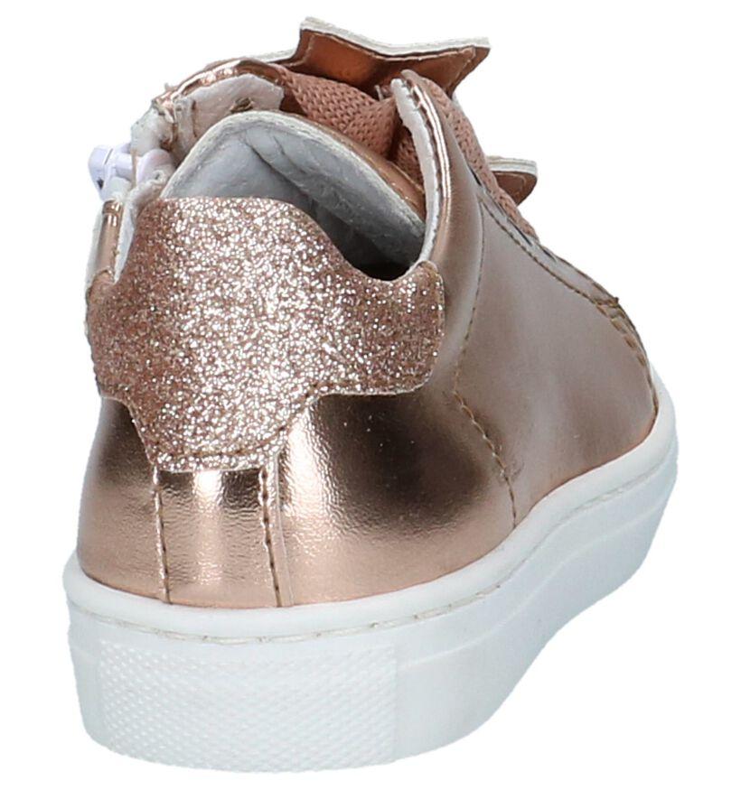 K3 Chaussures basses en Or rose en simili cuir (213081)