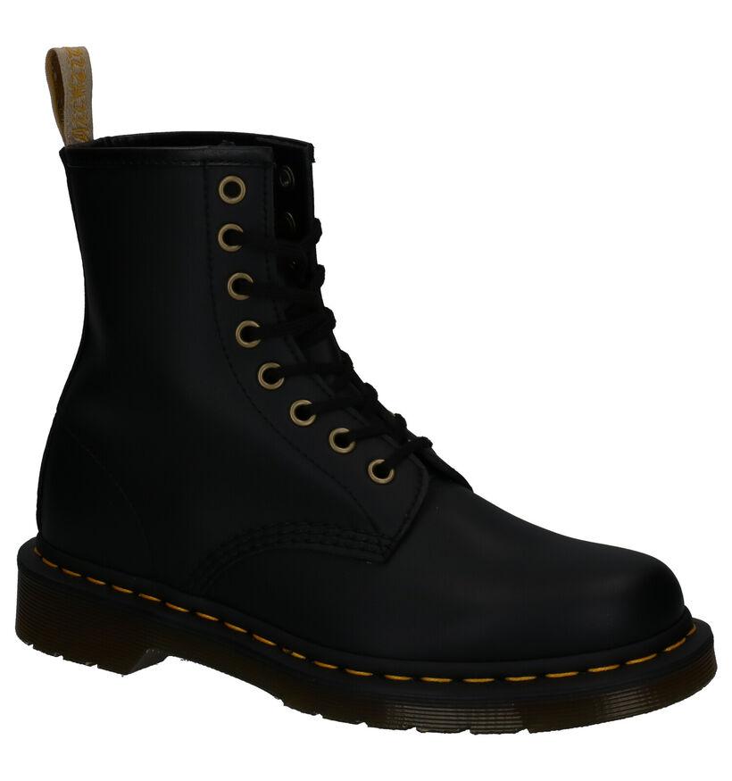 Dr. Martens Vegan 1460 Zwarte Boots in kunstleer (277088)