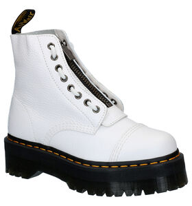 Dr. Martens Sinclair Witte Boots in leer (277076)