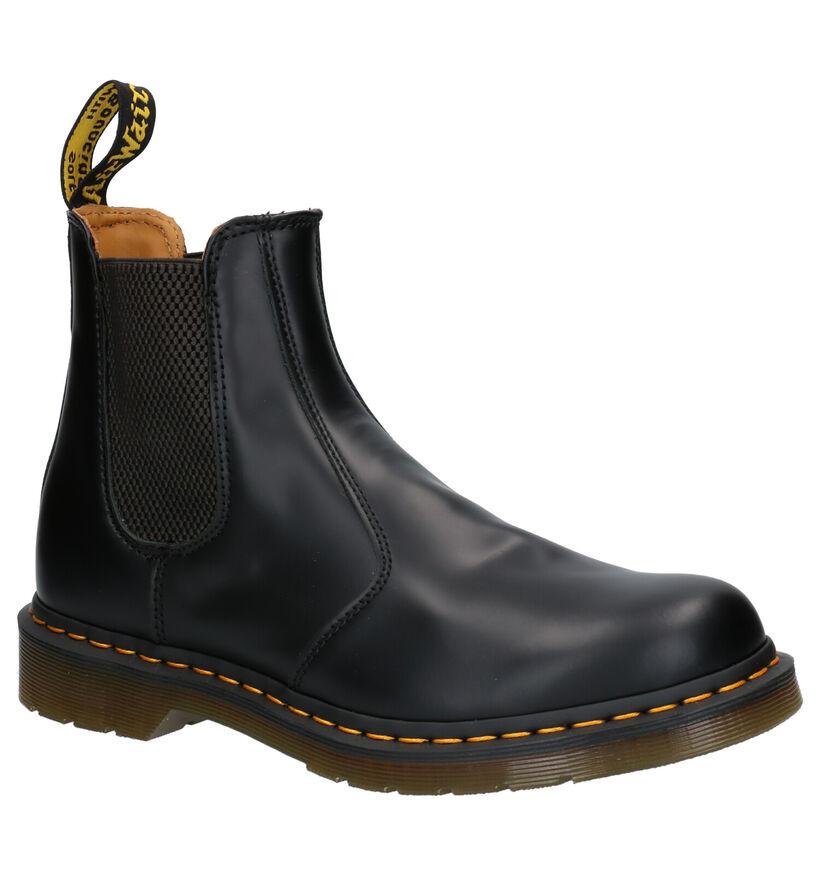 Dr. Martens 2976 Zwarte Chelsea Boots in leer (253490)