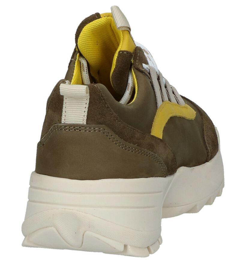 Bullboxer Kaki Sneakers in nubuck (239267)
