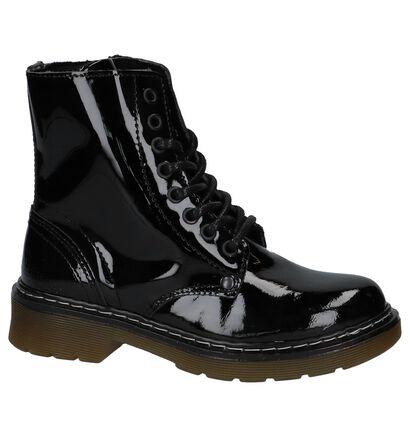Bullboxer Chaussures hautes en Noir en cuir (221672)