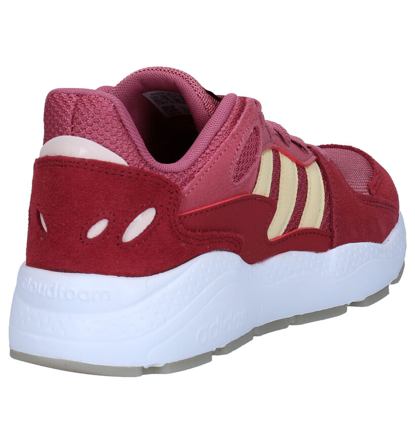 adidas Crazychaos Roze Sneakers in stof (276434)