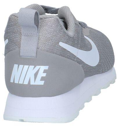 Kaki Lage Sportieve Sneakers Nike MD Runner in stof (209813)