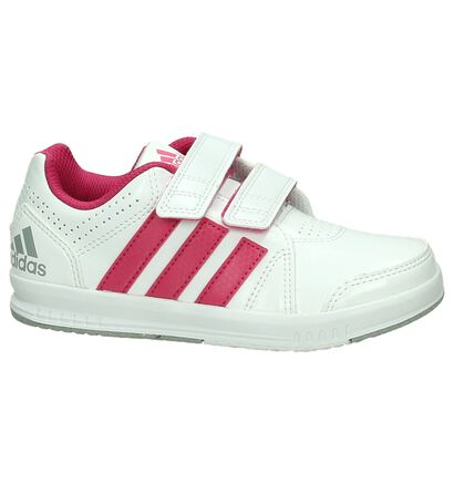adidas Baskets basses en Blanc en imitation cuir (196579)