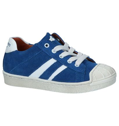 STONES and BONES Chaussures basses en Bleu en cuir (212080)