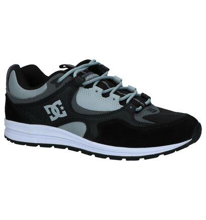 Zwarte Nineties Sneakers DC Shoes Kalis Lite in kunstleer (235119)