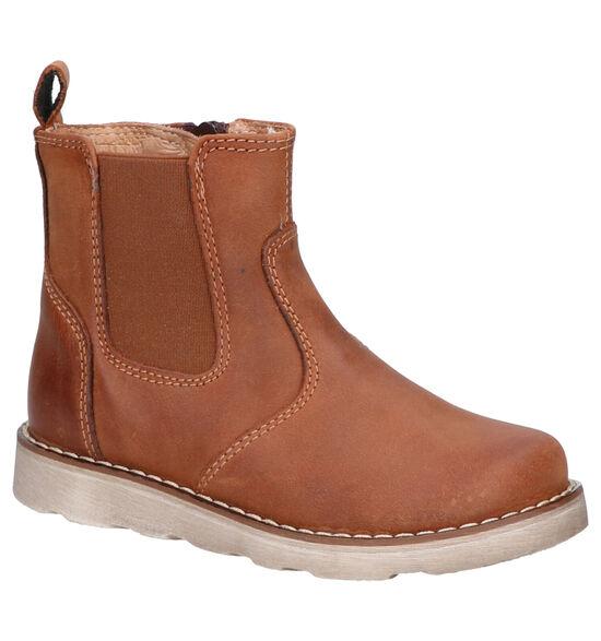 Lunella Chaussures hautes en Cognac