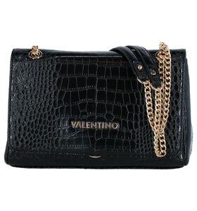Valentino Handbags Zwarte Schoudertas in kunstleer (283151)