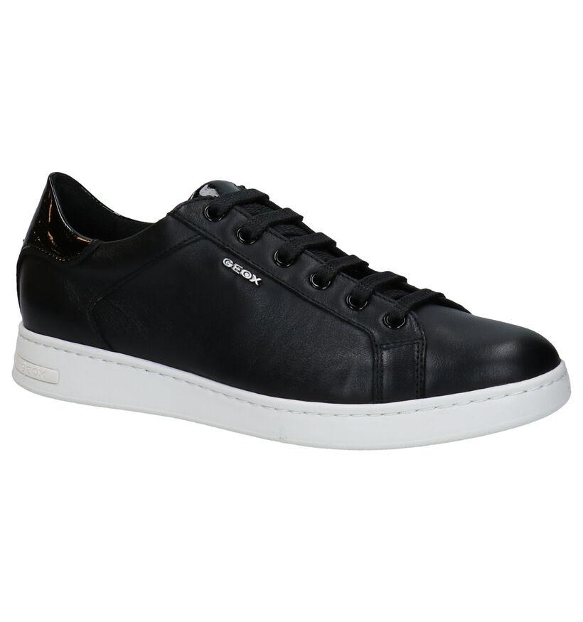 Geox Jayson Chaussures à lacets en Noir en cuir (278860)