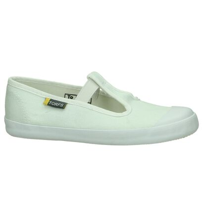 Rucanor Pantoufles de gym en Blanc en textile (73904)