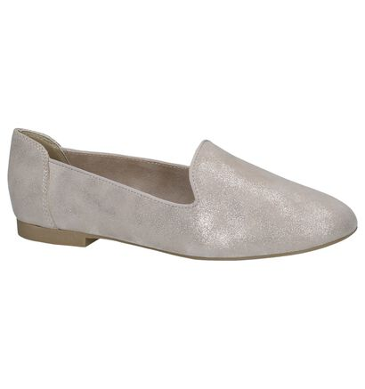 Donkerblauwe Loafers Marco Tozzi, Beige, pdp